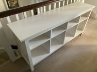 IKEA HEMNES Console Table, White Stain