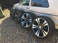 "Range Rover discovery Vw t5 22"" alloy wheels"