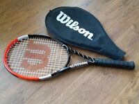 Wilson Light Weight Power Tennis Racquet with cover