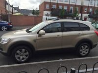 7 seater Chevrolet Captiva low miles