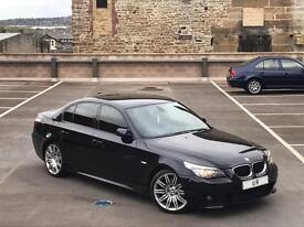 2007 (57) BMW 530D M SPORT AUTO + LCI FACELIFT + FULL LEATHER + SAT NAV + SPYDER ALLOYS