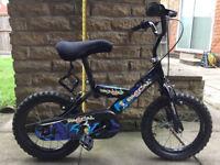 Kids mountain bike, 12 to 14 inch wheel