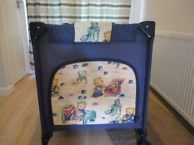 Mint Condition Travel Cot