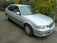 2004 Rover 45 Impression S TD 1994cc - MOT 19th Feb 019 - 67000 Miles - 5 Door - Clean Car