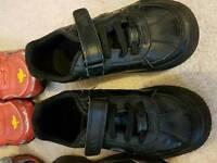 Clarks school shoes 9 f