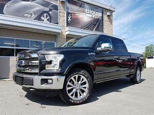 2015 Ford F-150 Lariat, Toit pano, Cam 360, 22191km