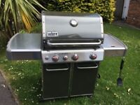 Weber Genesis 3 Burner Gas Barbecue great condition £450
