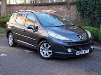 FROM £56pm £0 DEPOSIT! 2009 PEUGEOT 207 SW 1.6 VTi SPORT 5dr ESTATE, 1 YEAR MOT, FSH, PANORAMIC ROOF