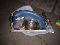 Professional Circular Saw 190mm blade, 1400W motor, 230V