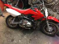 50cc motorbike,scrambler,pitbike/4 stroke.