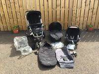 Quinny Buzz 3 Travel System with Maxi Cosi Car Seat