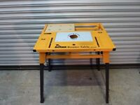 Triton Router Table with Jigsaw Attachments & Dust Collector
