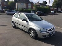 VAUXHALL CORSA 2004 LOW MILES 2 KEYS