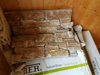 Stone Tier cladding 4.6 square metres