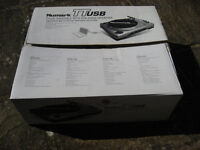 Numark TTUSB Turntable Record Player Complete Boxed Little Use LOOK