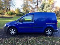 VW CADDY 2009 SPECIAL EDITION OVER £4000 OF FACTORY EXTRAS LOW MILES FSH FISHING TRIPS ONLY!!