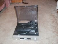 Record Player3 speed. With Amplifier And Speakers,