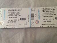 2 Rod Stewart Tickets For Sale