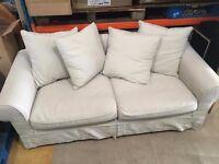 Sofa In Cream *Good Condition* £30