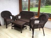 Ratan conservatory furniture
