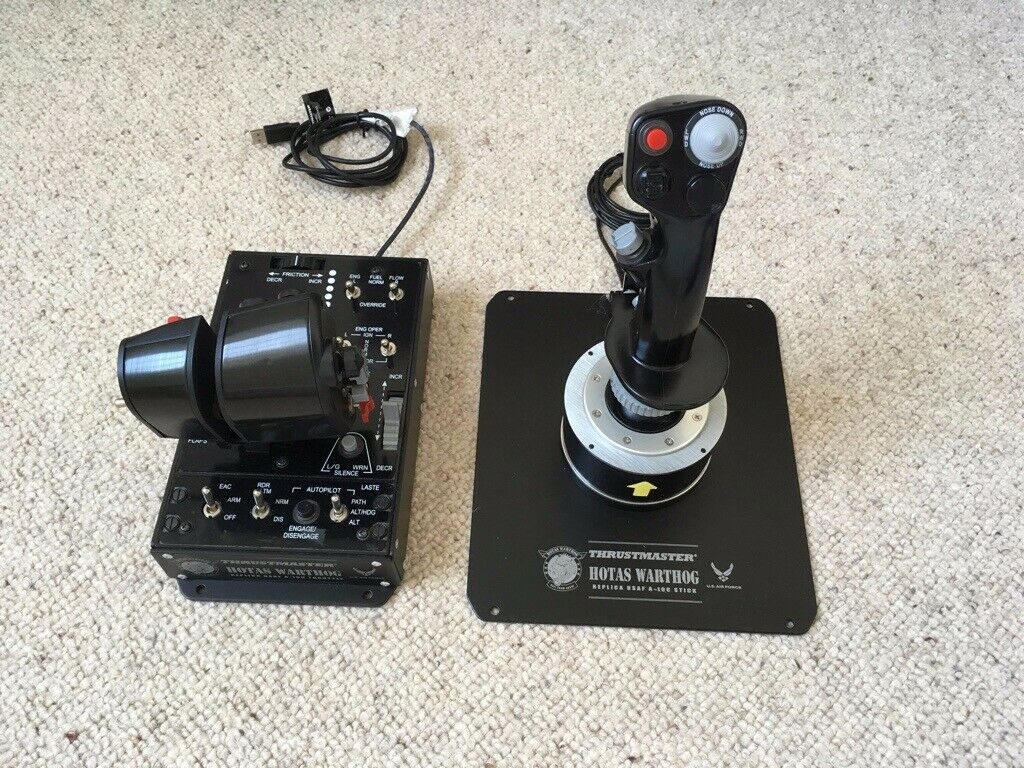Thrustmaster Warthog Hotas Joystick and Throttle | in Plymouth, Devon |  Gumtree