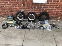Lambretta spares and tools