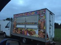 Kebab van for sale need work doing to it but potentially good earner