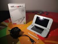 "barely used ""new"" nintendo 3ds XL + charger"