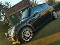 Mini one black 3dr hatchback 2003 111k