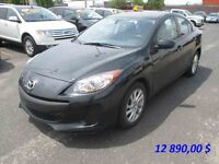 2013 Mazda 3 GX***INSPECTION SECURITAIRE 62 POINTS****