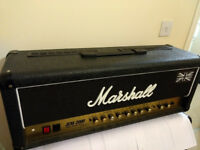 Mashall JCM200 DSL 100 watt head.
