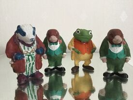 Wind in the Willows collectable ornaments