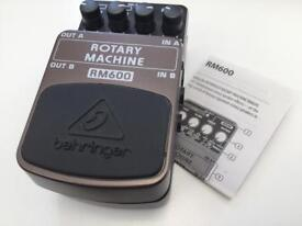 Behringer Rotary Machine RM600 Leslie cabinet pedal guitar keyboards