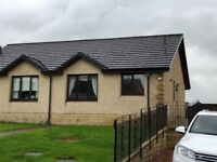 Attractive 2 bed semi-detached bungalow, Springbank View, Plains, Airdrie. 10 mins drive to J6 of M8