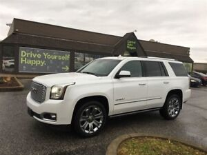 2016 GMC Yukon Denali / NAVI / SUNROOF / LEATHER