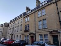Two bedroom maisonette with private garden in Central Bath