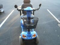 4 - 8 Mph BLUE Mobility Scooter