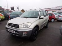 *TOYOTA RAV4 GX 2.0 VVTi*METALLIC GOLD*EXCELLENT CONDITION*12 SERVICE STAMPS*YEARS MOT*ONLY £1495*