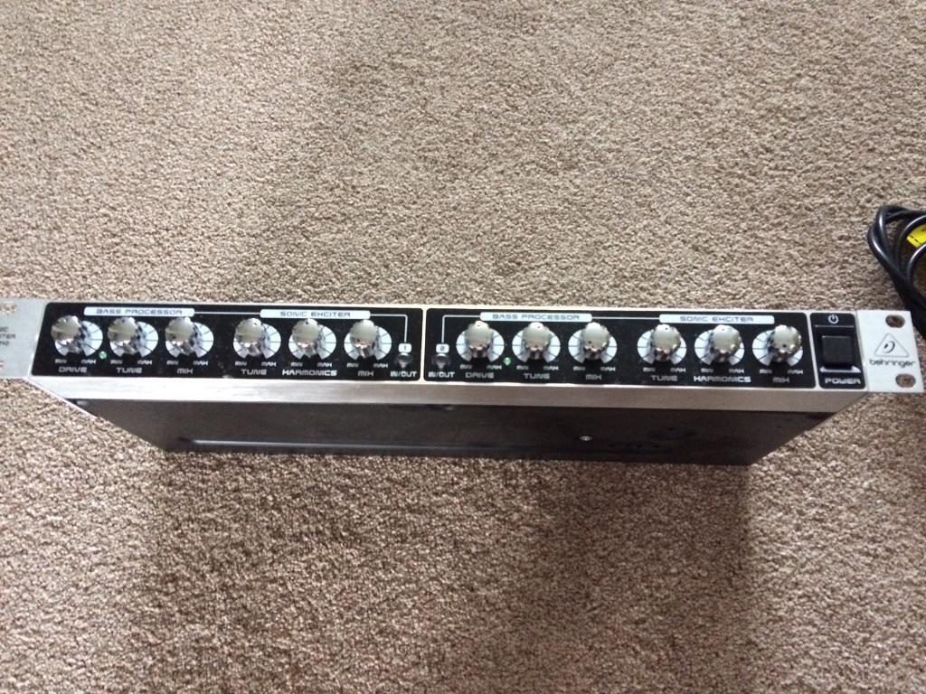 BEHRINGER SX3040 STEREO SONIC EXCITER AUDIO ENHANCER