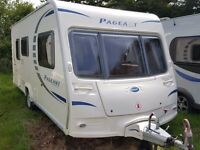 SUPERB 2009 Bailey Pageant Monarch 2 Berth End Washroom Caravan with MOTOR MOVER