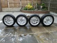 "MG ZR/Rover 25 Hairpin 16"" Alloy Wheels"