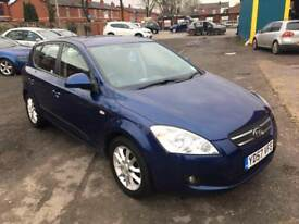 KIA CEED 1.6 CRDI LS 5 DOOR 2008 / FULL SERVICE HISTORY / 12 MONTH MOT / 2 KEEPERS / 2 KEYS