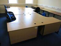 6 corner desks