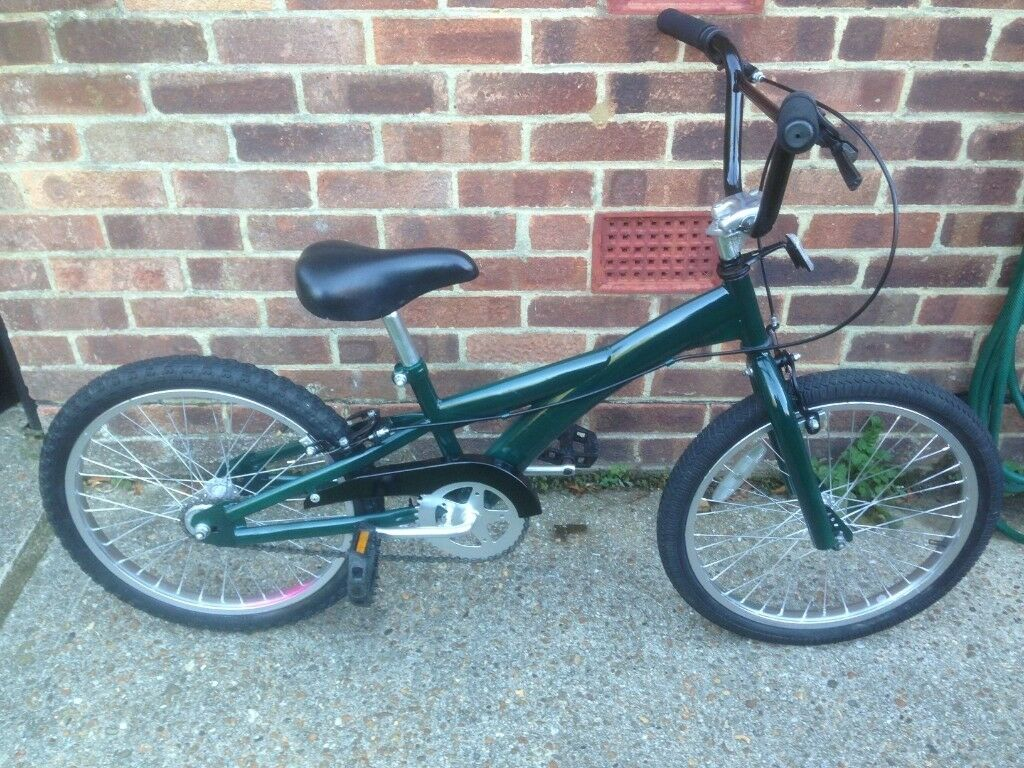 Bmx British Racing Green 20 Inch Wheels Walmer