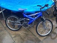 Kids suspention bike