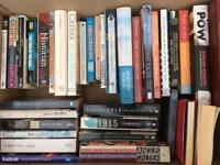 Over 100 Good Quality History, Biography and Fiction Books