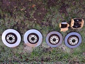 Genuine OEM VW Brake Discs & Pads