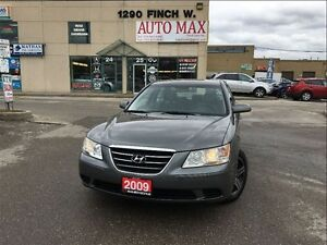 2009 Hyundai Sonata GL, Alloy Rims, Clean Carproof
