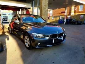 BMW 320d 2013 Grey Efficient Dynamics £20/yr Road tax Very Economical