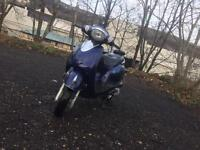125cc Vespa style scooter moped motorcycle motorbike cbt learner